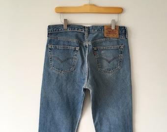Vintage 501 Levi's Jeans   Red Tab