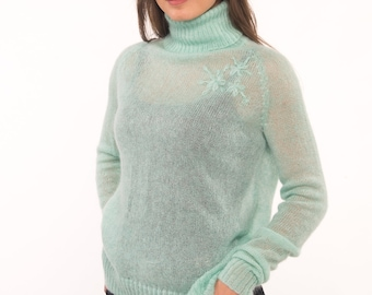 Light mohair sweaters