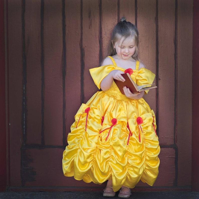 2a779371799 Prinzessin Kleid schöne und das Biest Belle Kleid gelb