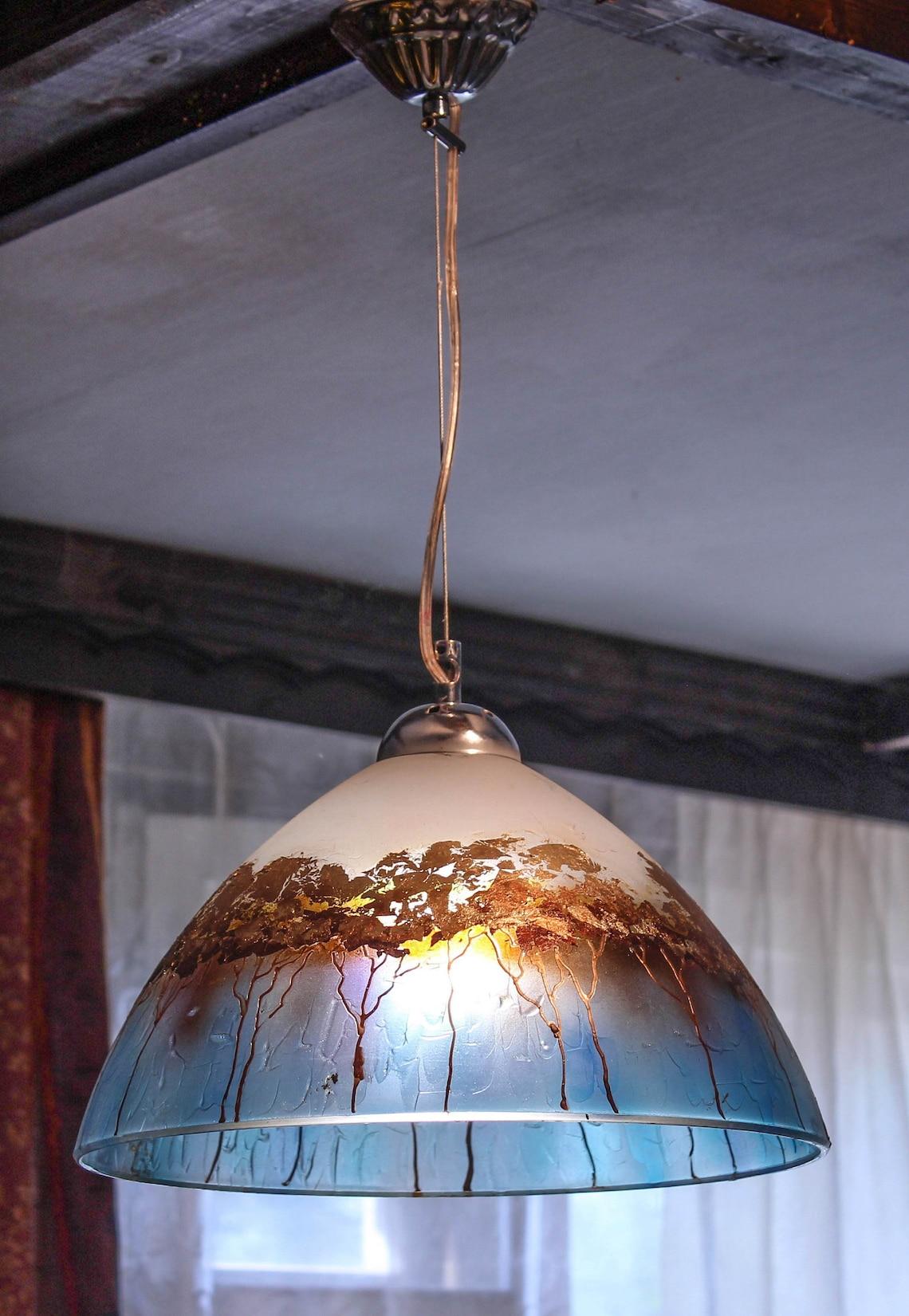 Pendant Light Hanging Light Glass Lamp Shade Island Kitchen Lighting Ceiling Light Dining Room Light Beach