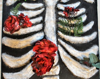 Flowers Through the Ribs