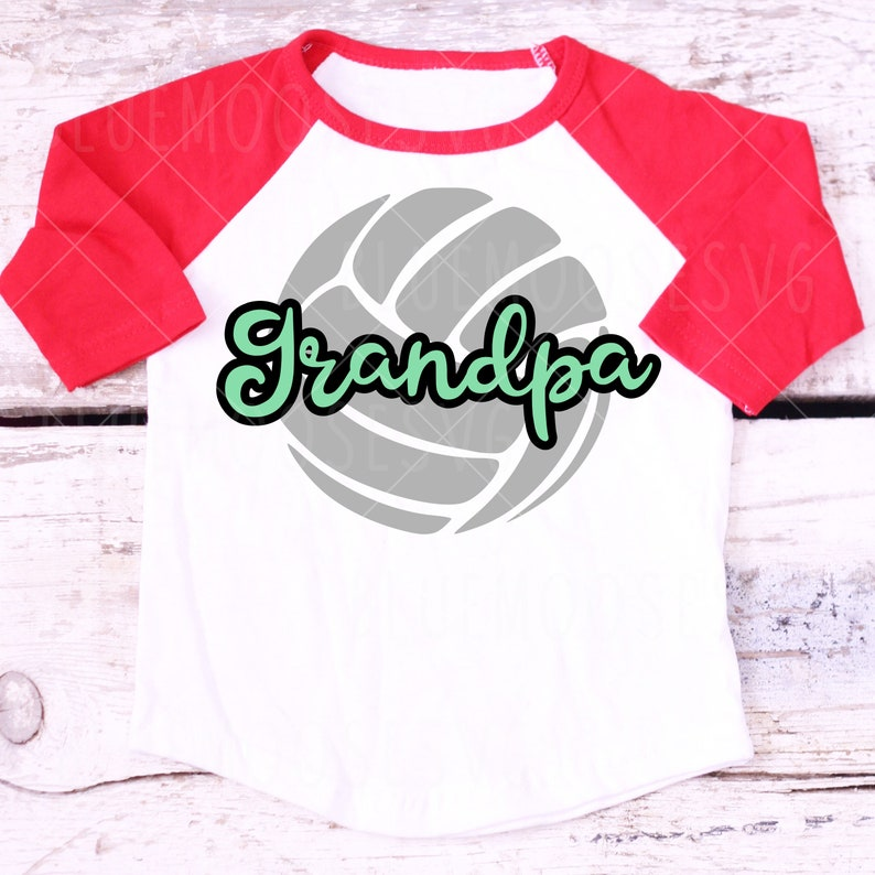 team sports volleyball svg Outline Grandpa in Volleyball volleyball grandpa