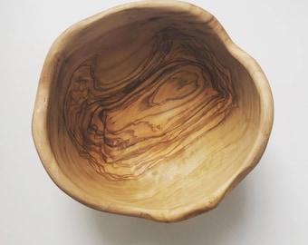 Handmade Olive Wood bowl