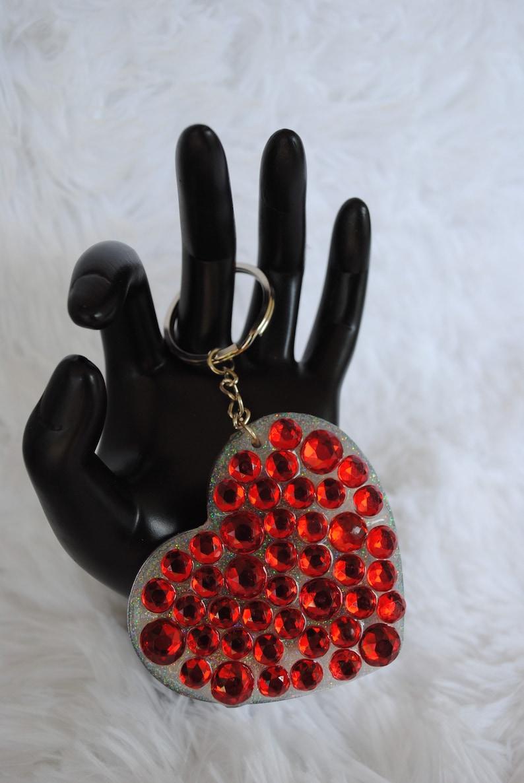 6963 Don\u2019t Get Murdered heart keychain Stay Sexy