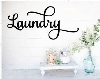 Laundry room decal laundry decals laundry decal laundry door decals