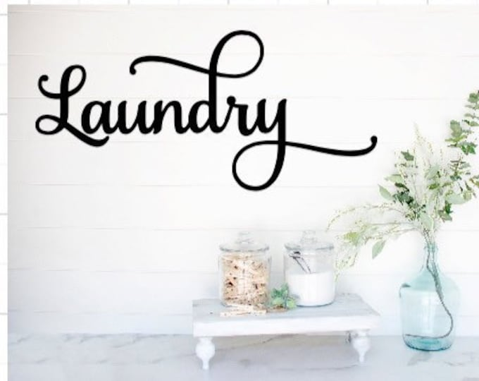 Laundry room decal laundry decals laundry decal laundry door decals