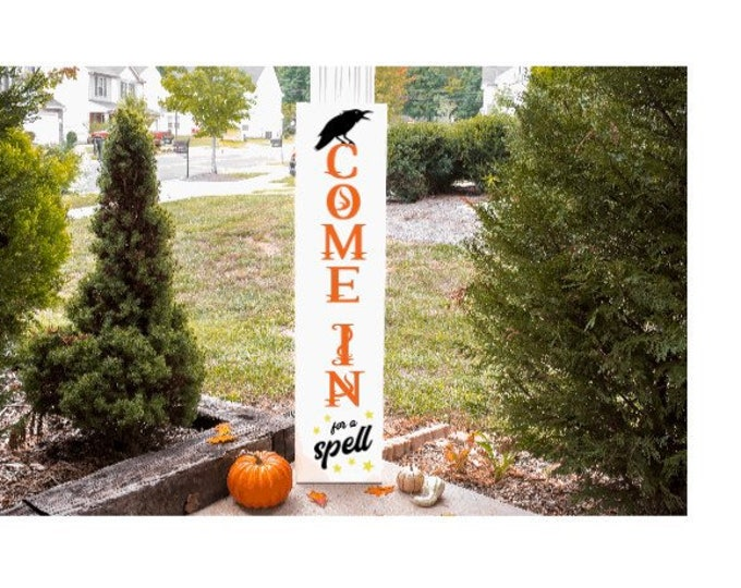 Porch signs. Wood porch sign. Reversible porch signs. Christmas porch sign. Halloween porch signs. Fall porch signs. Double sided porch sign