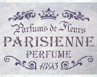French stencils | Etsy