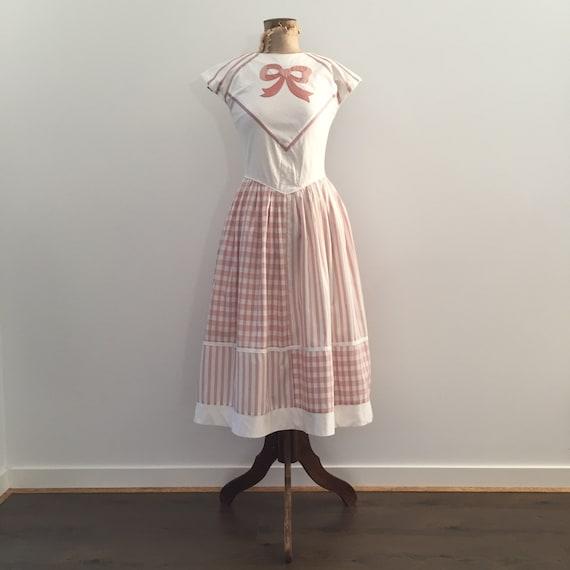 1950s Pinup Rockabilly Dress