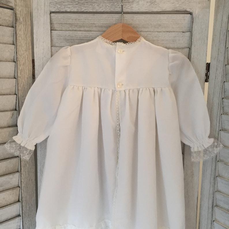 Vintage White Baby Dress