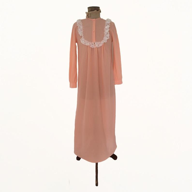 Vintage Peach Night Gown