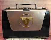 Vintage Retro 1953 Zenith Wave Magnet AM Tube Radio - Model L505
