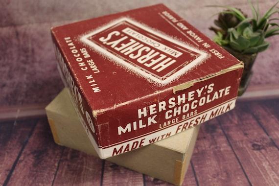 1960/'s     KELL CLOS Vintage Empty Hershey/'s Box