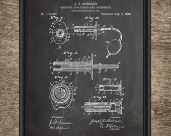 Patent medicine etsy medicine applicator patent medicine applicator poster medicine applicator blueprint medicine applicator instant download malvernweather Choice Image