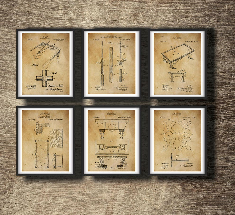 Snooker Gift Snooker Wall Decor Snooker Wall Art | Etsy