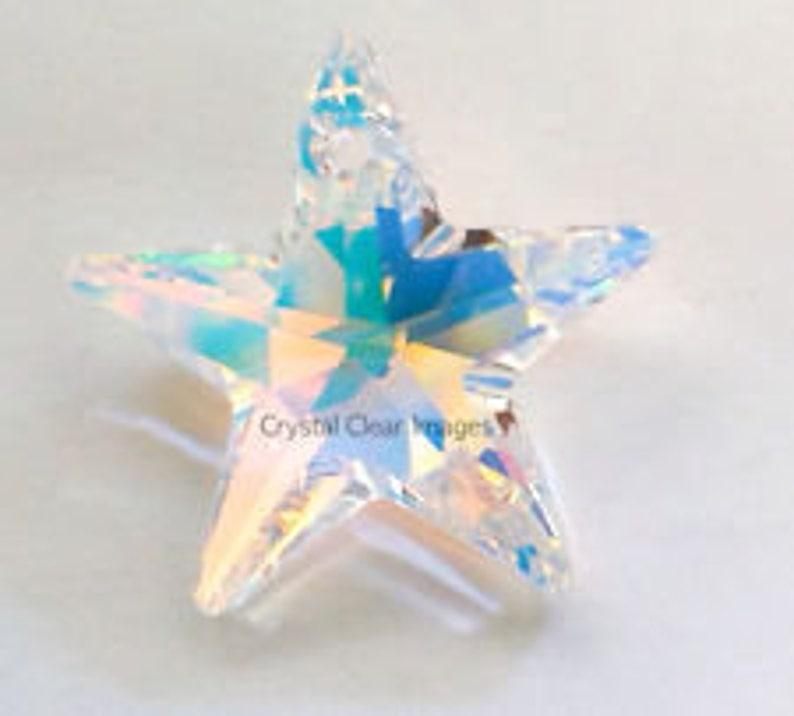 6aebc21a09d Swarovski Elements 28mm Aurora Borealis Crystal Star Prism Sun | Etsy