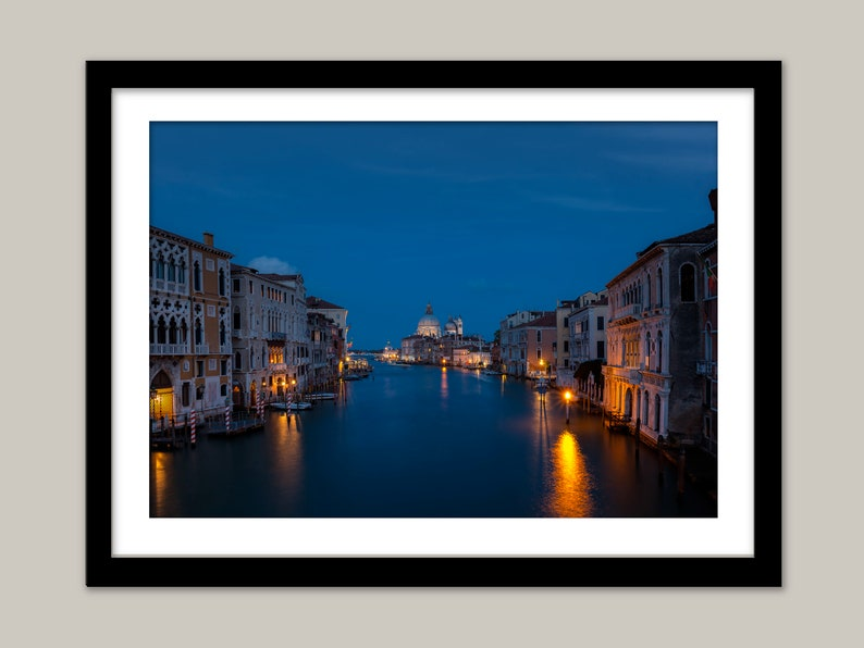 Venice wall art Grand Canal art Italy decoration Venice Italy image DIGITAL DOWNLOAD  Evening on the Grand Canal Venice lifestyle