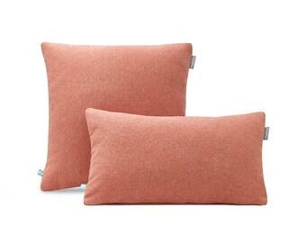 Decorative Pillow Case FELT Red