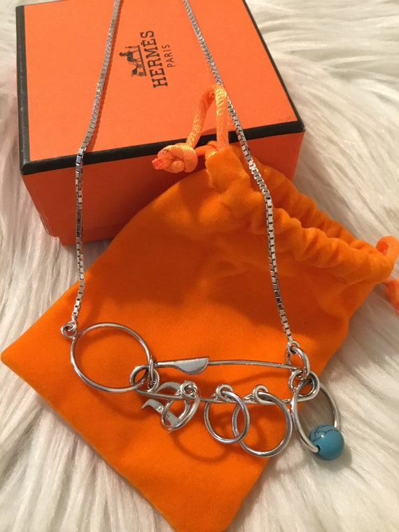 Authentic Dior Sterling Silver Necklace