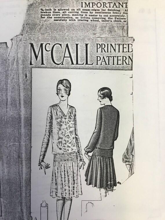 Jahrgang der 1920er Jahre Frauen Schnittmuster uncut