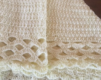 Soft Crochet Baby Blanket