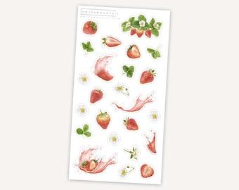 Strawberry    13 stickers