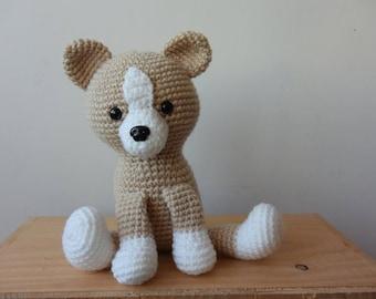 dog puppy crochet toy