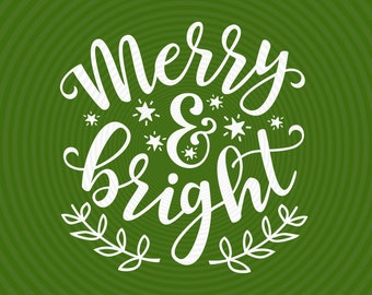 Merry And Bright Etsy