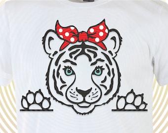 Tiger Bandana Svg Tiger Svg Tiger Heart Valentine Svg Etsy