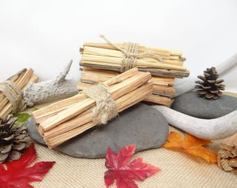 Fatwood Fire Bundle Tinder Kit With Jute Wrapping Fatwood Kindling