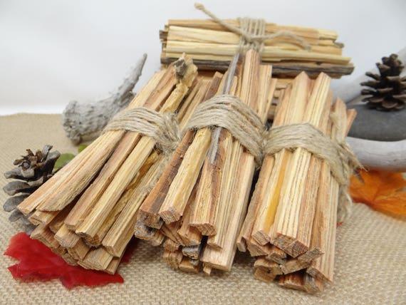 Natural Fatwood Tinder Organic firestarting material handmade
