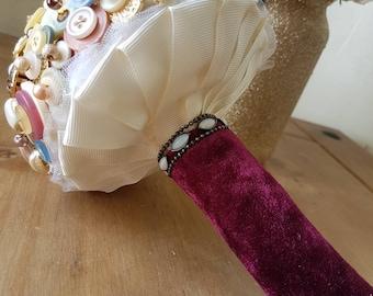 Bespoke button bouquet
