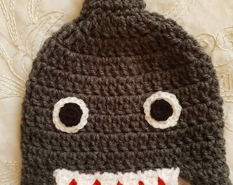 24b2e14762a Baby boys shark hat
