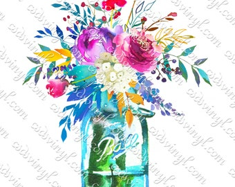 watercolor be gentle with your growing soul Sublimation Transfer Ready to Press -