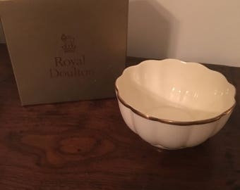 Vintage Royal Dalton Candy Dish and Box