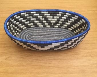 à africain tissé décoration Corbeille intérieure corbeille ethniques à pain motifs X7wqOZ