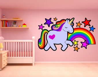 BEN AND HOLLY PERSONALISED WALL STICKER girl/'s bedroom nursery decal art 3 sizes