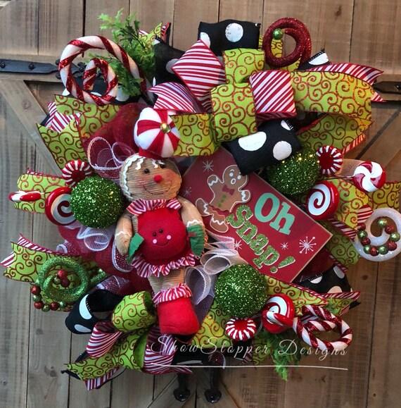 image 0 - Candyland Christmas Door Decorations