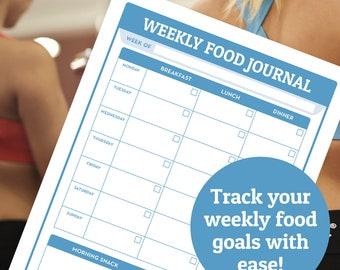 food journal meal planner menu planner food tracker food journal printable food trackers food journal template food tracker insert