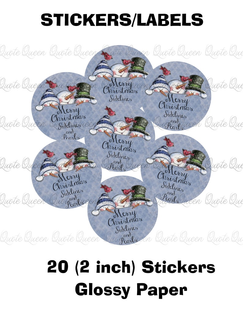 Peek a boo snowman christmas stickers labels snowman etsy