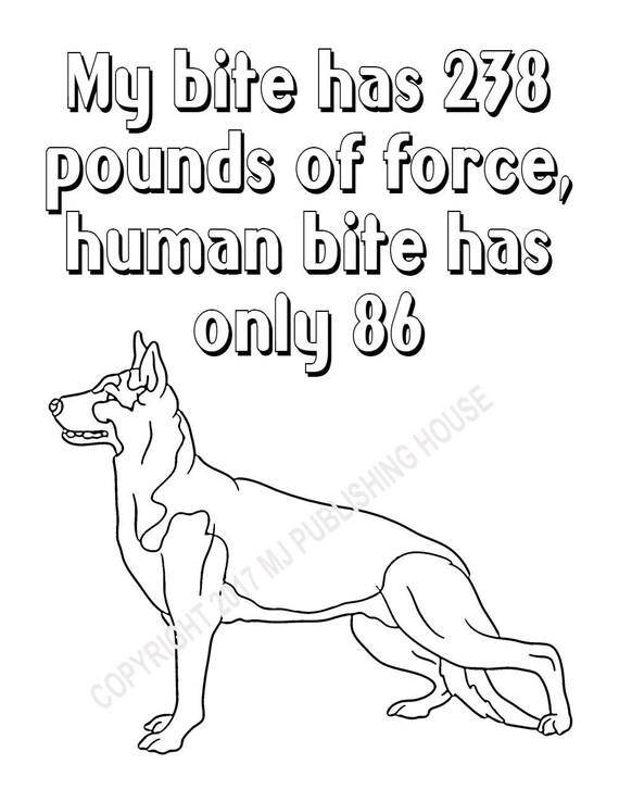 German Shepherd Dog coloring page   Free Printable Coloring Pages   738x570
