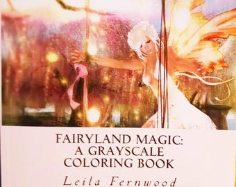 PDF Download Of Fairyland Magic A Grayscale Coloring Book