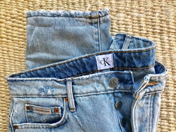 Calvin Klein mom jeans