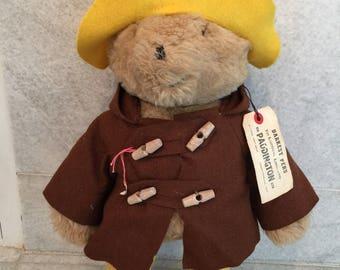 Vintage Paddington Bear