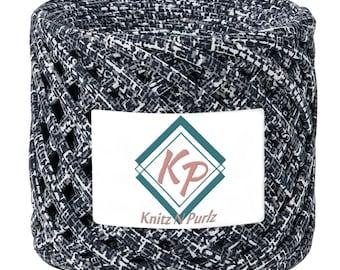 Tshirt Yarn for crochet purse rugs and baskets. T shirt yarn fabric to crochet basket and home decor DIY. limassol