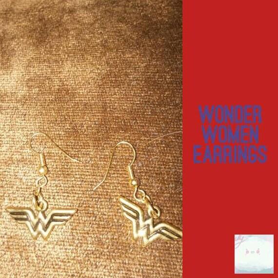 Wonder women earring
