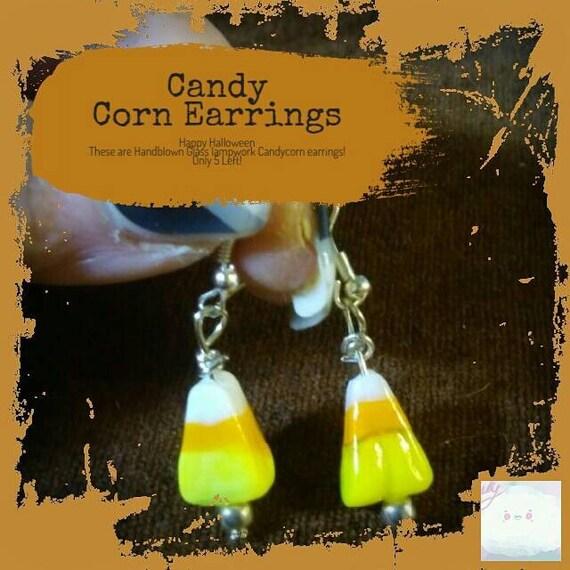 Candy Corn Earrings #Halloween