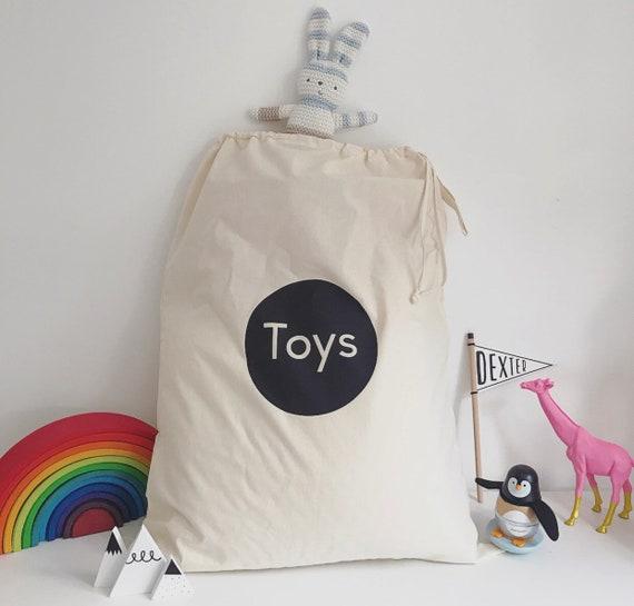 Children/'s Toy Storage Drawstring Sack Large