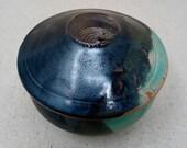 Small lidded vessel