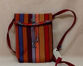 Southwestern stripe cross-body purse